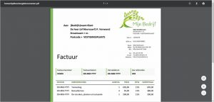 PDF-factuur in Google Docs