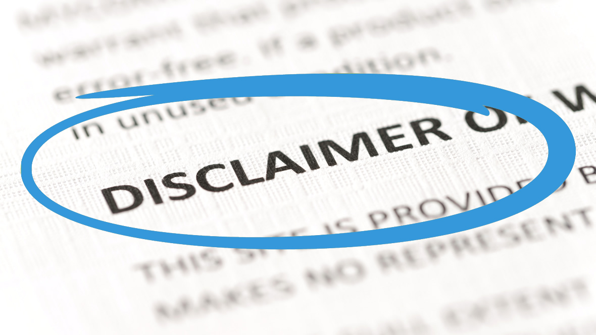 Disclaimer website factuur.tips