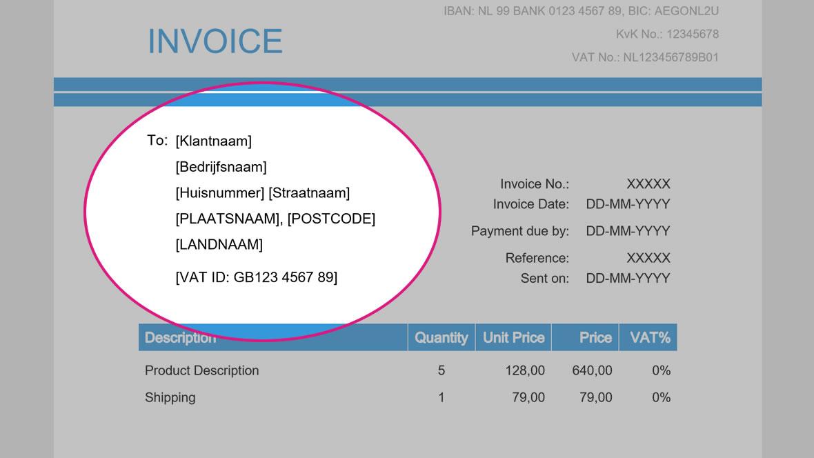 factuur in het engels Invoice maken? Bekijk en download Engels factuur voorbeeld