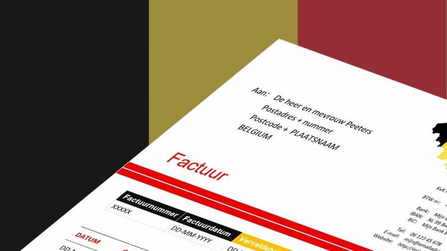 Voor Belgische klanten een rekening maken