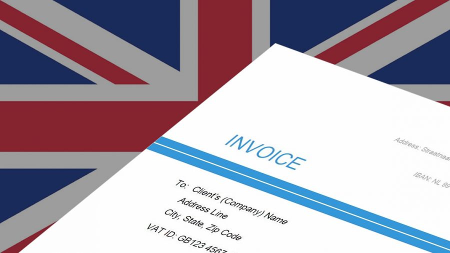 Factuur in het Engels maken (invoice)