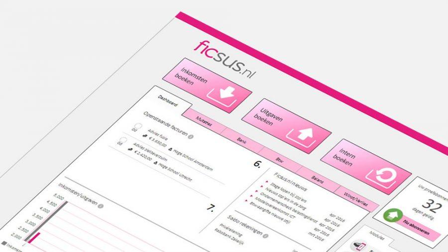 Gratis factuur- en boekhoudprogramma Ficsus.nl