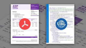 De rekening in PDF en UBL-formaat versturen